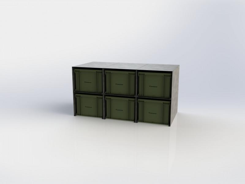BOX-RACK 12