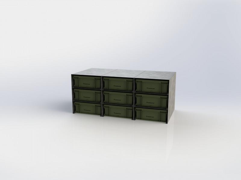 BOX-RACK 6