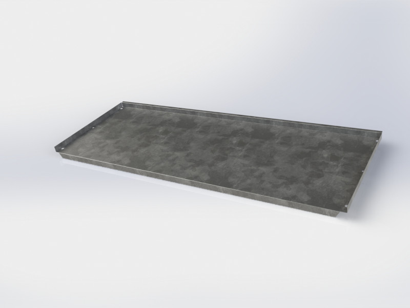 OMNI i90 Plated Half-Depth Shelf