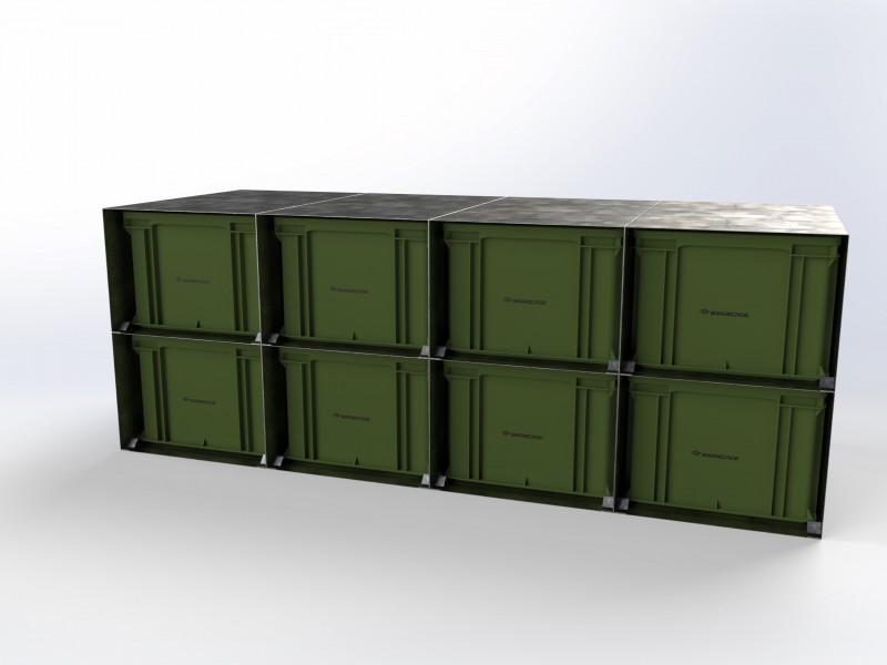 POB-Rack 12 4x2
