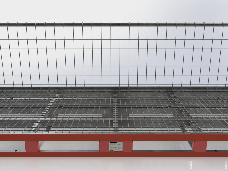 STACK RACK XXL Grid Back Wall