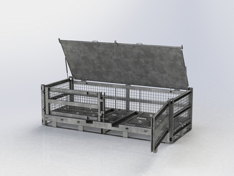 TACTICAL BASKET HEAVY DUTY XXL (without top lid)